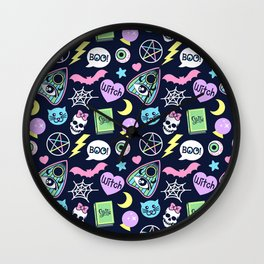 Spooky Babe Wall Clock