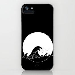 Black Wave iPhone Case
