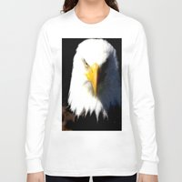 eagle Long Sleeve T-shirts featuring Eagle by Brian Raggatt
