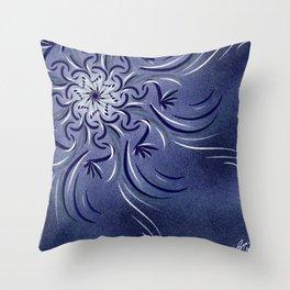 Lavender Flourish Throw Pillow