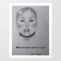 health Art Prints featuring Perfect Health by Manuel Estrela 113 Art Miami