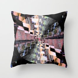 Torsion Throw Pillow