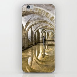 Winchester Cathedral Crypt iPhone Skin