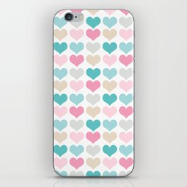 sweet hearts iPhone Skin