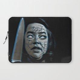 Misery Portrait Knife Haunt Demon Terrible Experience Laptop Sleeve