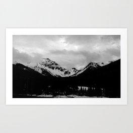 Telluride Mts. 1 Art Print