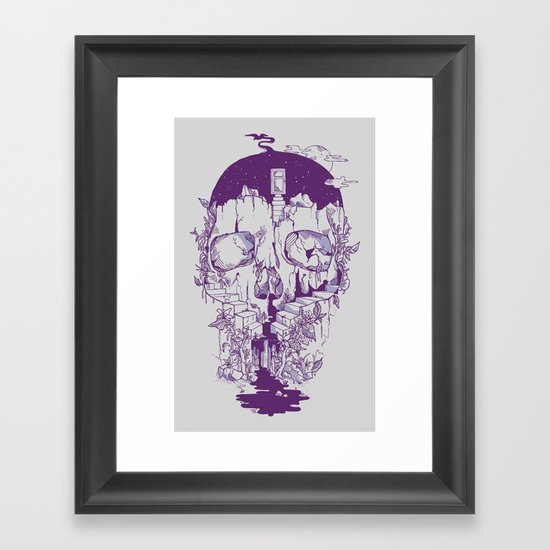 Inside My Head 2.0 Framed Art Print