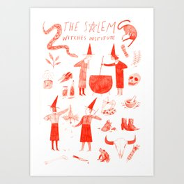 The Salem Witches Institute Art Print