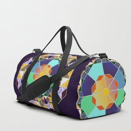 Octagonal geometric pattern abstract Duffle Bag