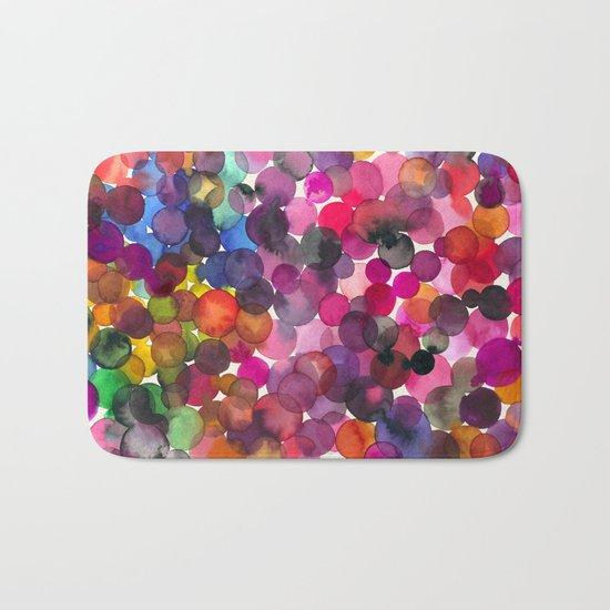 Color Dots Bath Mat