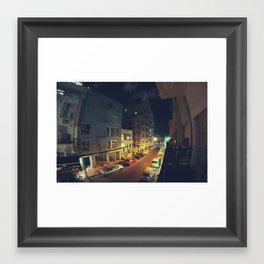 Florentine Tel Aviv פלורנטין תל אביב  Framed Art Print