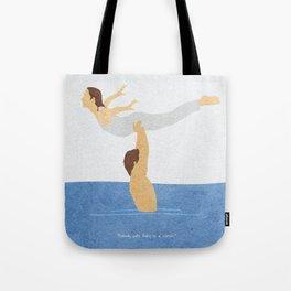 Dirty Dancing Alternative Minimalist Movie Poster Tote Bag
