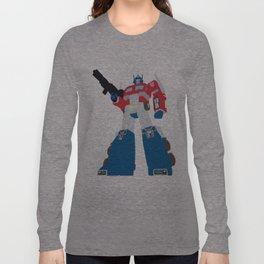 Transformers G1 - Optimus Prime Long Sleeve T-shirt