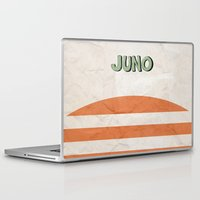 movie poster Laptop & iPad Skins featuring Juno - Alternative Movie Poster by Stefanoreves