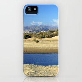 Beautiful landscape from Gran Canaria iPhone Case