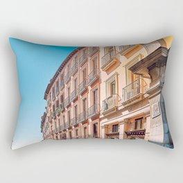 Windows by the street Rectangular Pillow