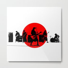 Japanese Band Metal Print