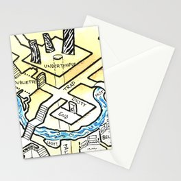 Obsidian Dungeon Stationery Cards