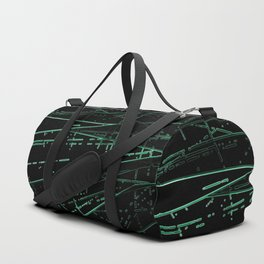 Neon Disco #8 Duffle Bag
