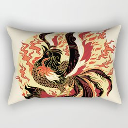 Year of the Fire Rooster Rectangular Pillow