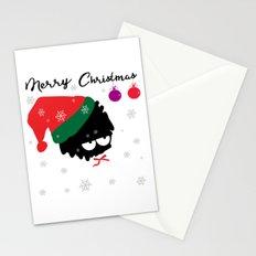 Merry Chrstmaslittle Santa Stationery Cards