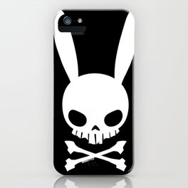 Skull Bunny iPhone Case