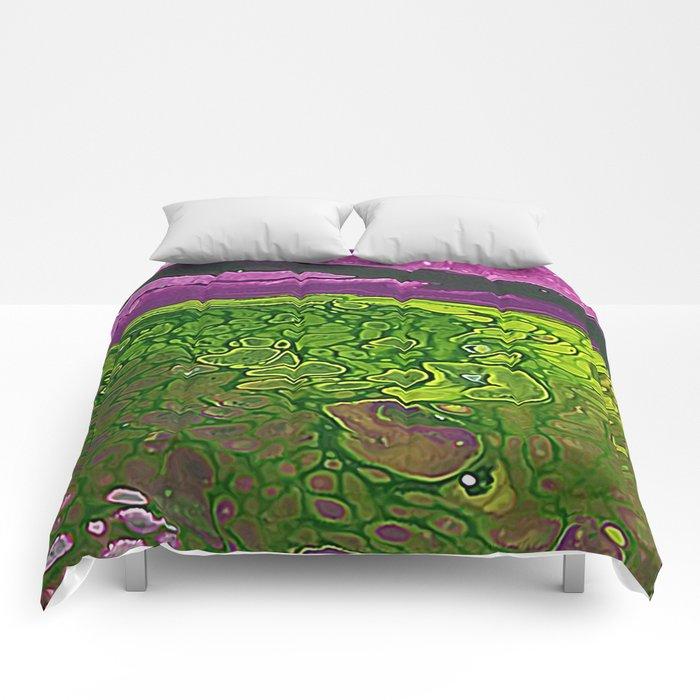 Green Cells Comforters
