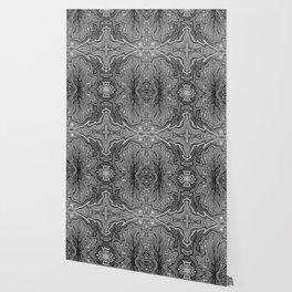 Abstract #4 - V - Black & White Wallpaper