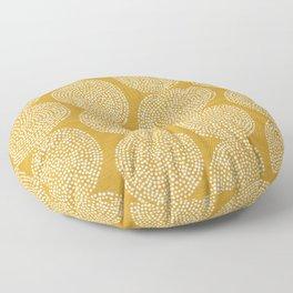 Beech in Gold Floor Pillow