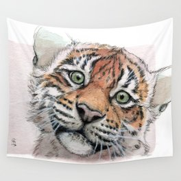 Tiger Cub 887 Wall Tapestry