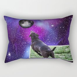 Reaching For The Moon Rectangular Pillow