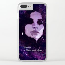 Rogue One:We Have Hope Clear iPhone Case
