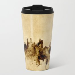 Cambridge England Skyline Travel Mug