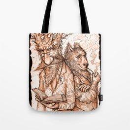 Randil Eadlin and Benjamin Ulfr Tote Bag