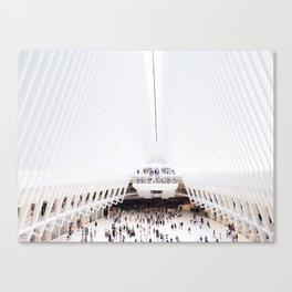 DAWN / Freedom Tower Canvas Print