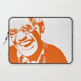 Ray Charles – Orange Laptop Sleeve