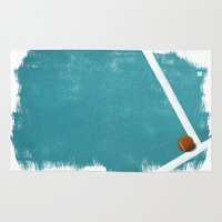 tennis Area & Throw Rugs featuring Tennis by Matt Irving