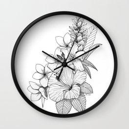 Hawaii Daydream Wall Clock