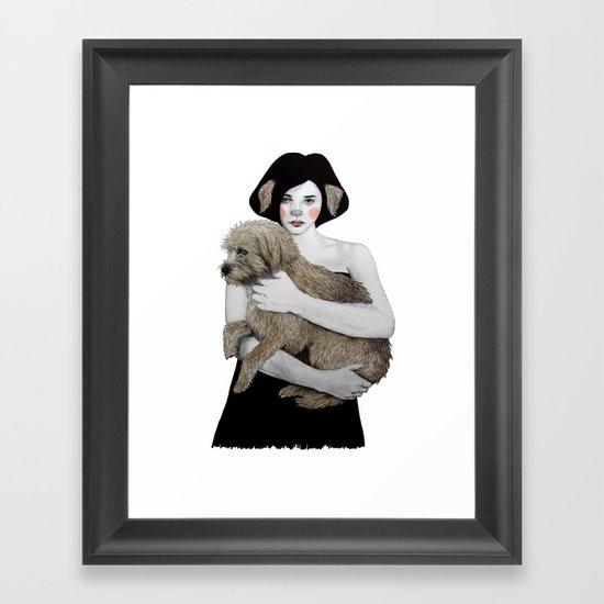 Rena Framed Art Print