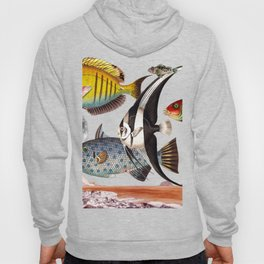 Fish World yellow Hoody