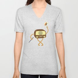 Old Style Radio Unisex V-Neck