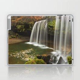 Nabegataki Falls in Japan in autumn Laptop & iPad Skin
