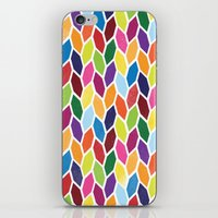 diamonds iPhone & iPod Skins featuring Diamonds by Wharton