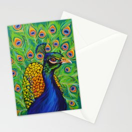 Wild Peacock Stationery Cards