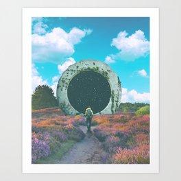 Escapist Art Print