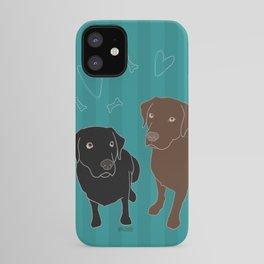 Retriever ChocoBlack iPhone Case