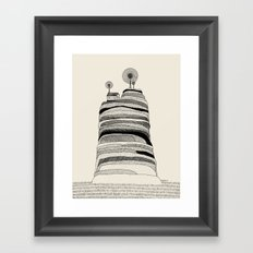 Radio Hill Framed Art Print