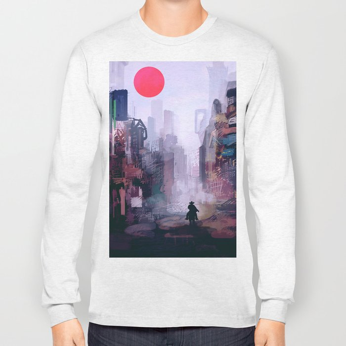 Strange Mornings Long Sleeve T-shirt