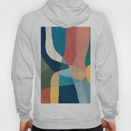 Waterfall and forest Hoody