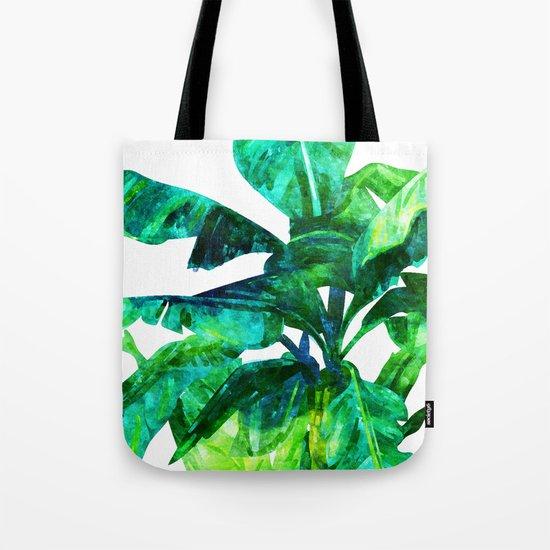 Banana Leaves #society6 #decor #buyart Tote Bag